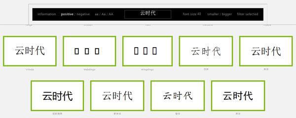 【数据测试】wordmark-免费在线预览字体