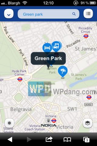 【数据测试】通吃所有平台:Nokia Maps推HTML5版