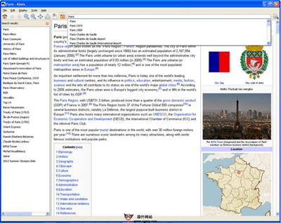 【工具类】KiWix:维基百科离线携带版工具