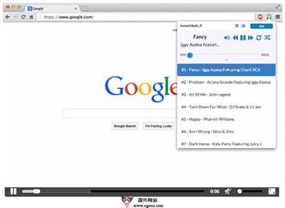 【工具类】InstantMusicAPP:基于浏览器即时音乐播放扩展