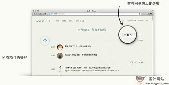 【工具类】Tower.im:在线团队协作项目管理工具