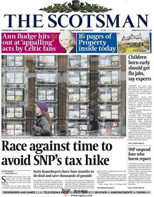 【经典网站】Scotsman:苏格兰人日报