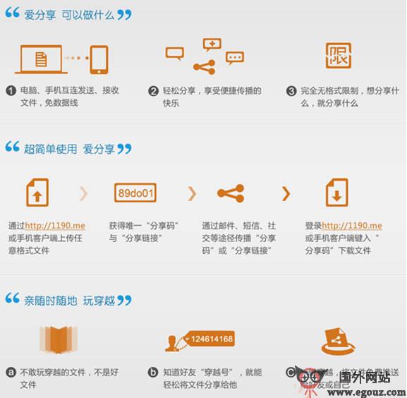 【工具类】1190.ME:PC与移动设备无线传输工具