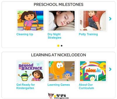 【经典网站】Nickjr:儿童游戏娱乐平台