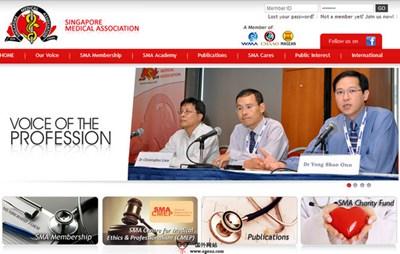 【经典网站】SMA:新加坡医药协会