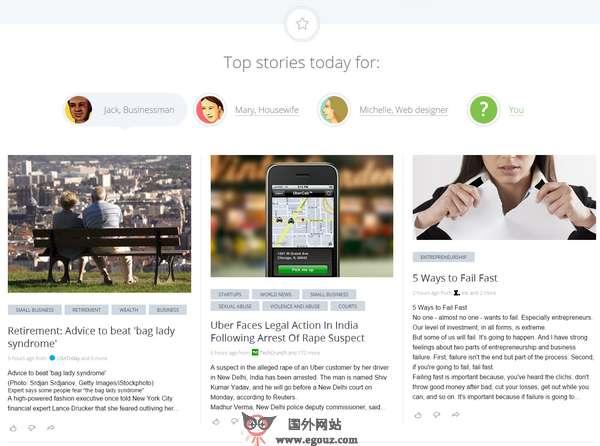 【经典网站】News360:国际新闻聚合阅读平台