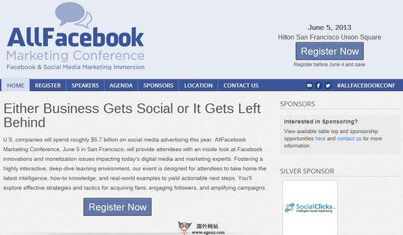 【经典网站】AllFaceBook:非官方Facebook博客