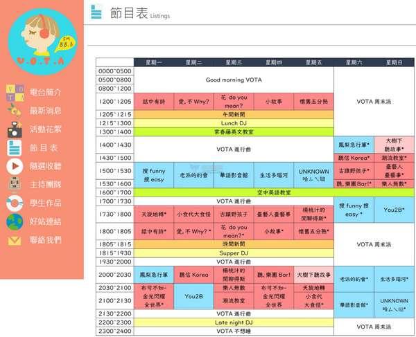 【经典网站】台艺之声|台湾学生实习电台