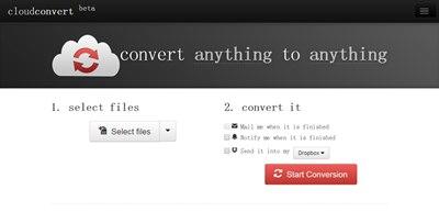 【数据测试】CloudConvert,一款强大全能格式在线转换在线应用,支持格式非常丰富