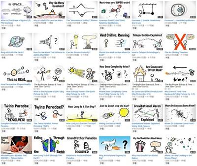 【经典网站】Minute Physics 物理学科普视频网