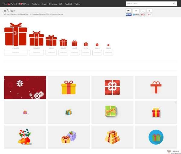 【素材网站】IconShow:免费纹理图标素材网