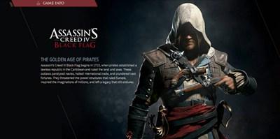 """【经典网站】AssAssin""""S:在线刺客信条-海盗网页版游戏"""