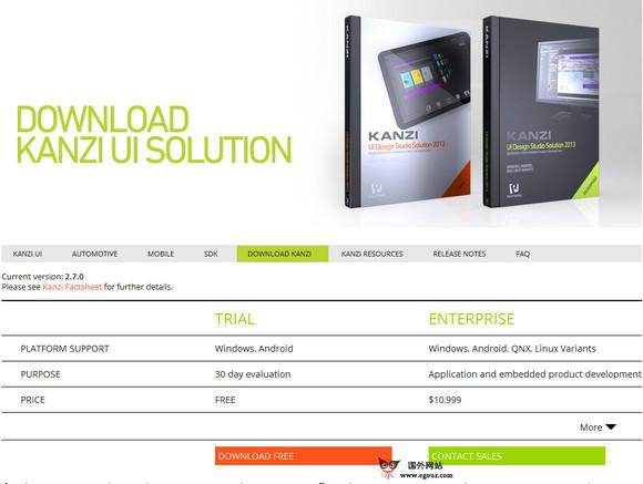 【经典网站】RightWare:3D UI设计开发平台