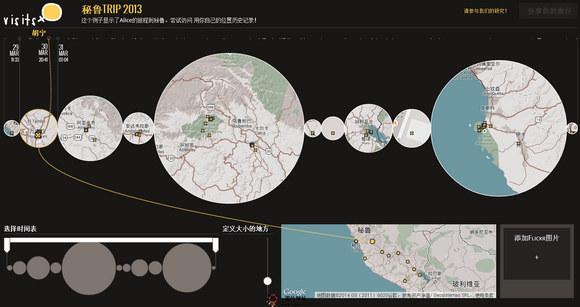 【经典网站】iSits:基于地图历史旅游路线收集平台