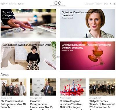 【经典网站】CreativeEntrepreneurs:创意产业企业家