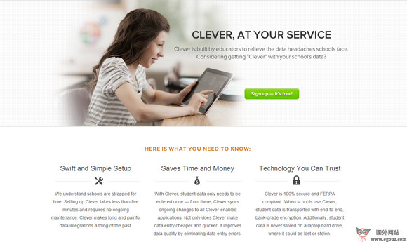 【经典网站】GetClever:免费教育资源开放平台