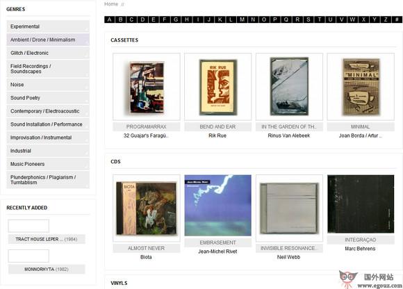 【经典网站】Sonm.es:世界声音艺术博物馆