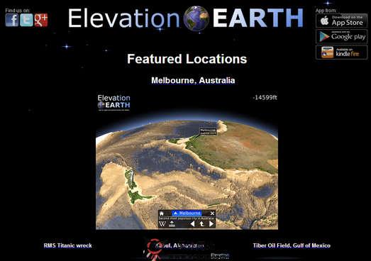 【经典网站】ElevationEarth:在线3D地球探索平台