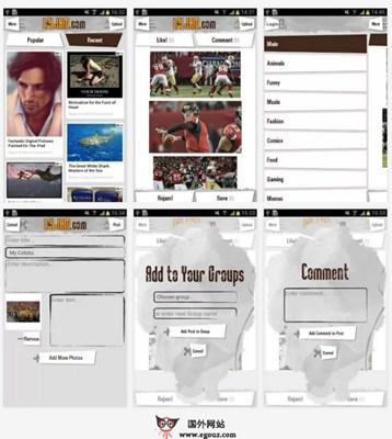 【经典网站】LolJam:社会化娱乐分享平台