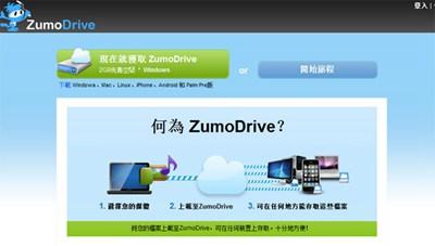 【数据测试】zumodrive,2G免费即时同步云存储空间