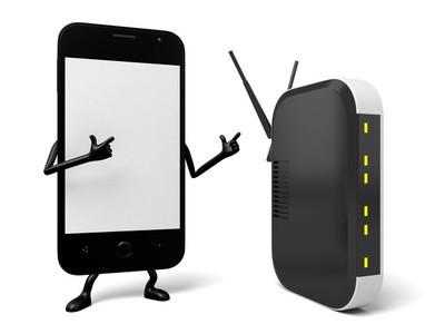 我家搜索到一个wifi,叫IP-COM,请问是官方的么?