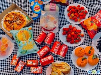 关于野餐的句子-春游野炊的说说带图片 适合周野餐发朋友圈的句子