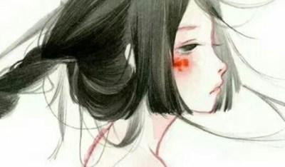 忽而夏至的悲伤日记的伤感说说配图 你最美的青春都在陪他吃苦