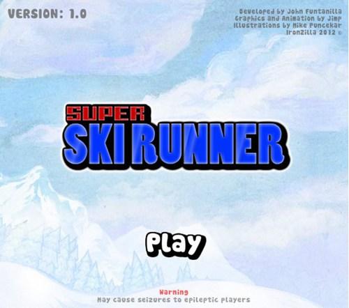 超级滑雪小子_【体育竞技滑雪游戏单机版】(4M)