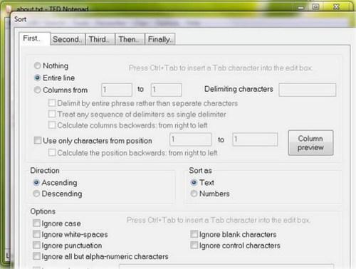 ted notepad文本编辑工具_【文字处理ted notepad,文本编辑工具】(112KB)