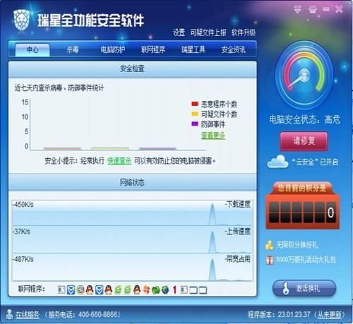 瑞星全功能安全软件_【杀毒软件瑞星安全软件】(40.2M)