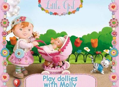 小女孩茉莉和洋娃娃一起玩耍_【模拟经营模拟经营游戏单机版】(50M)