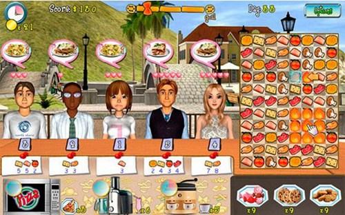 微笑餐厅_【模拟经营模拟经营单机游戏】(42M)