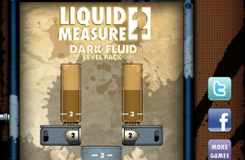 液体测量2黑色液体_【益智休闲接水管游戏】(6M)