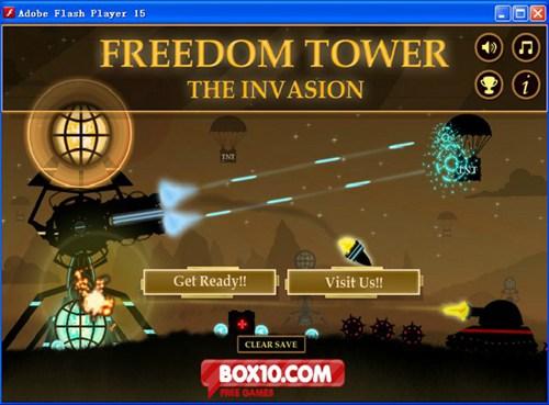 自由塔入侵_【FPS射击射击游戏单机版】(8M)