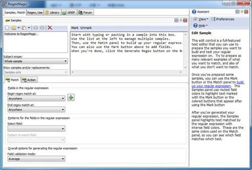 regexmagic正则表达式软件_【编译工具regexmagic,正则表达式软件】(5.6M)