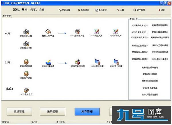 企业材料管理系统_【工程建筑企业材料管理系统】(2.7M)