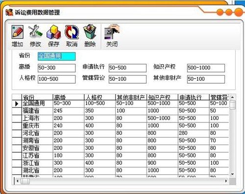 诉讼费用计算器_【法律法规诉讼费用计算器】(190KB)